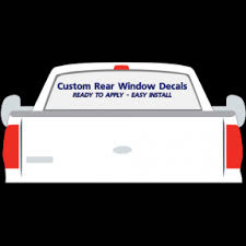 Custom Rear Window Decals 4 X 48 Custom Prespaced Stickers Vl0403