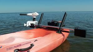 ocean kayak motor kayak motor mount