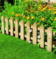 Small Boarder Picket Fence Amazon Co Uk Small Garden Fence Diy Garden Fence Picket Fence Garden