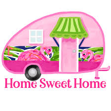 Camper Flamingo Personalized Window Decal Or Bumper Sticker Car Window Decal Vinyl Car Decal Yeti Tumbler Decal Wall Decal Laptop Decal Peel And Stick Vinyl Decals
