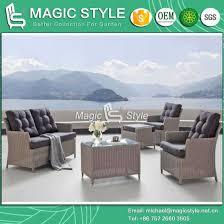 outdoor sofa set with cushion garden