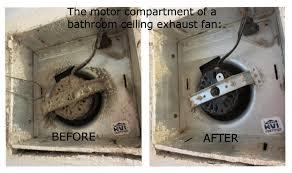 bathroom exhaust fan fire hazards