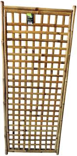 Amazon Com Master Garden Products Mgp Framed Bamboo Square Lattice Pattern Panel Garden Outdoor