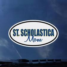 St Scholastica Mom Window Decal The College Of St Scholastica Saints Shop