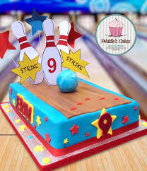 25 Inspired Picture Of Bowling Birthday Cake En 2020 Cumpleanos
