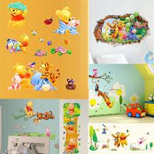 Disney Fairies Tinkerbell Sisters 3d Smashed Wall Sticker Decal Art Kids J529 Home Garden Children S Bedroom 3d Decor Decals Stickers Vinyl Art