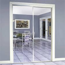 steel framed mirrored sliding door