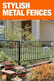 The Home Depot Has Everything You Need For Your Home Improvement Projects Click To Learn More And Shop Avail Metal Garden Fencing Backyard Fences Fence Design