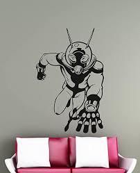 Amazon Com Ant Man Wall Decal Superhero Vinyl Sticker Comics Wall Decor Removable Waterproof Decal Home Kitchen
