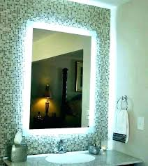 bathroom mirror with led lights