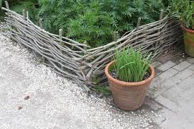 Hardscaping 101 Woven Fences Gardenista
