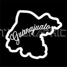 Guanajuato Mexico State Vinyl Decal Gto Sticker Window Body Wall 2 Ebay