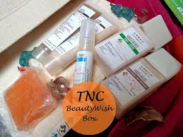 the natures co beautywish box december