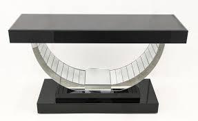 mezzaluna luxury console table art