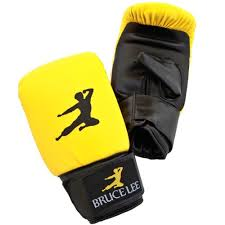 synthetic leather boxing bag gloves