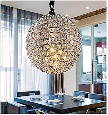 ceiling lamp modern chrome globe