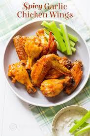 y garlic en wings recipe