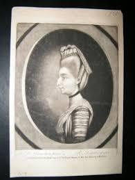 Laurie after Hamilton 1771 Mezzotint Portrait. Polly Kennedy | Albion Prints