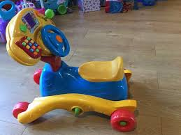 vtech grow and go rocker ride on toy