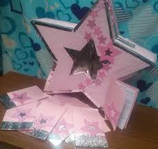 Tema Estrellas Invitaciones Y Buzon Invitaciones Tarjetas Buzones
