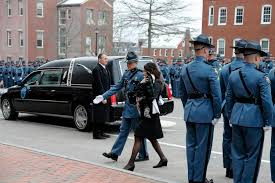 Thousands mourn Easthampton native Benjamin Campbell, Maine state ...