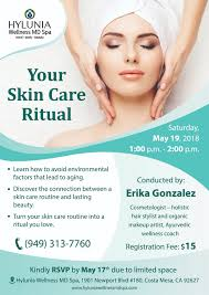 your skin care ritual newport beach