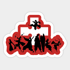 Fire Force Fire Force Anime Sticker Teepublic