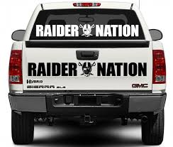 Raiders Nation Oakland Decal Dumbdecals Com