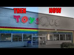 abandoned toys r us one week after