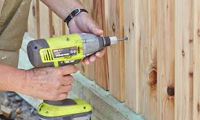 How To Install Pickets For A Picket Fence Bunnings Warehouse