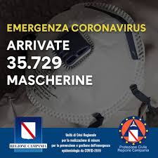 Coronavirus in Campania, De Luca: «Arrivate le prime 35mila ...