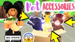 NEW* ALL OF THE PET ACCESSORIES In ADOPT ME!!! (FIRST LOOK ...