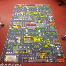 children s road rug play mat toy car