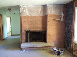 brick fireplace makeover you won t