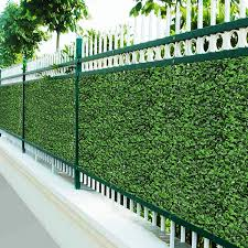 China Wholesale Garden Plastic Artificial Fence China Fencing And Fence Price