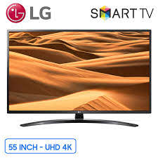 Smart tivi LG 4K 55 inch (55UM7400PTA) UHD Chính hãng, Giá rẻ nhất