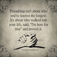 lessons learned in life friendship quotes