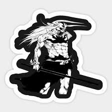 Hollow Ichigo Bleach Sticker Bleach Sticker Teepublic