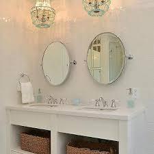 turquoise beaded bathroom chandelier