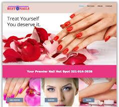 best nails web design melbourne fl