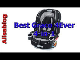 graco 4ever extend2fit platinum 4 in 1