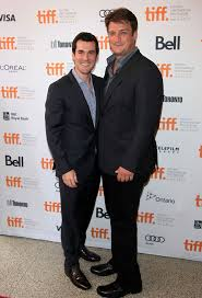 Sean Maher and Nathan Fillion promoting Much Ado About Nothing at Toronto  International Film Festival. | Mal reynolds, International film festival,  Boy crush