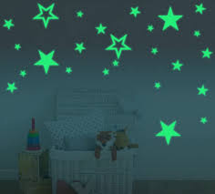 Amazon Com Silly 54pcs Extra High Lighting Home Wall Ceiling Glow In The Dark Stars Stickers Decal For Baby Kids Bedroom Stars In Three Sizes In Two Styles Home Kitchen