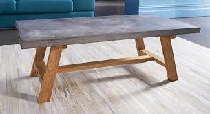 london coffee table with concrete table