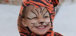 diy easy tiger halloween makeup