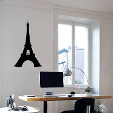 Eiffel Tower Wall Decals Wall Decor Stickers