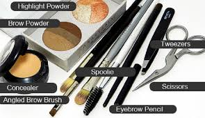 what makeup do you need for eyebrows
