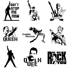 2020 Stickers Fashion Freddie Mercury Queen Band Car Sticker Auto Stickers Oil Tank Cover Car Styling Custom Accessories And Decal Wrap Vinyl From Lkmwdkawx 4 54 Dhgate Com