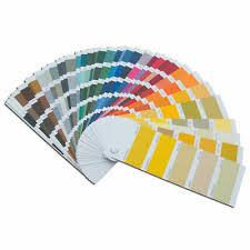 car paint ral colours fan deck
