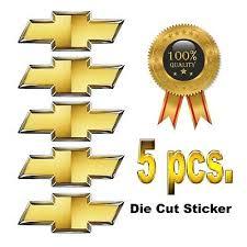 Chevy Bowtie Center Cap Hub Rim Wheel Vinyl Decal 6x Stickers Ss Lt1 Ls1 7 99 Picclick